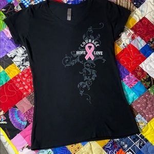 NEXT LEVEL. Womens t-shirt. Size M